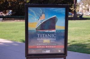 Titanic Exhibition in San Diego
